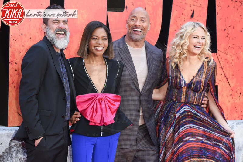 Dwayne Johnson, Jeffrey Dean Morgan, Naomie Harris, Malin Akerman - Londra - 11-04-2018 - Rampage, tutta la furia animale di Dwayne Johnson