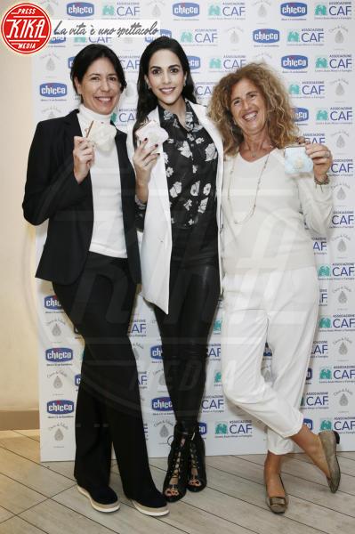 Luisa Pavia, Francesca Catelli, Rocio Munoz Morales - Milano - 12-04-2018 - Rocío Morales dona un sorriso ai bimbi con Il Chicco di Felicità