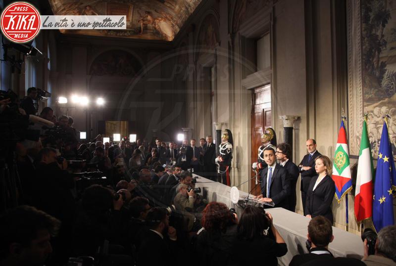 Luigi Di Maio - Roma - 12-04-2018 - Consultazioni, continua il braccio di ferro Di Maio-Salvini