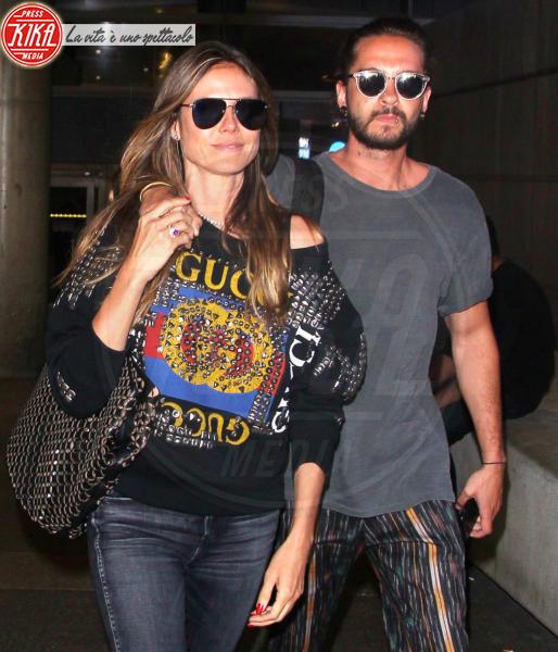Tom Kaulitz, Heidi Klum - LAX - 12-04-2018 - Heidi Klum e Tom Kaulitz sono marito e moglie
