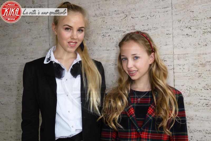 Maria Chiara di Borbone, Maria Carolina di Borbone - Roma - 14-04-2018 - Le principesse di Borbone danno lezioni di stile a Roma