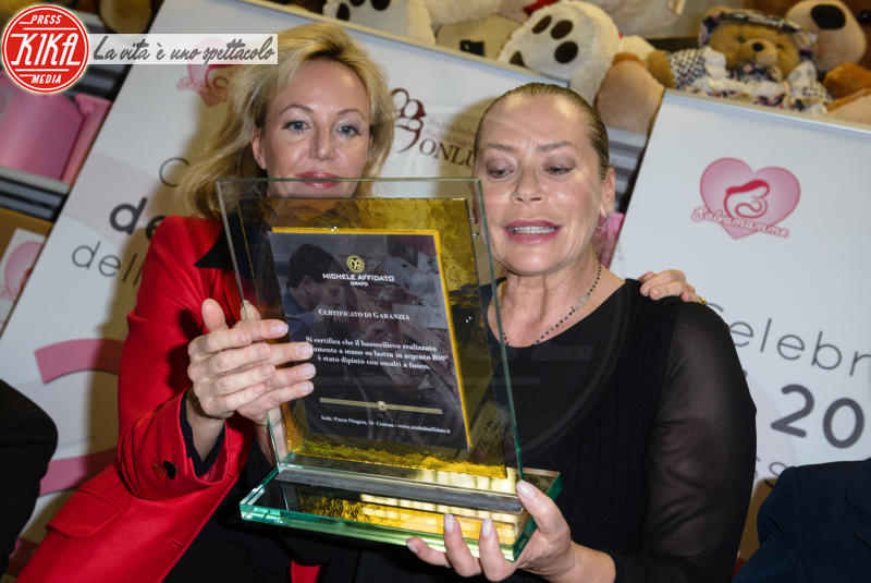 Camilla di Borbone, Barbara De Rossi - Roma - 14-04-2018 - Salvamamme compie vent'anni e la festa diventa principesca
