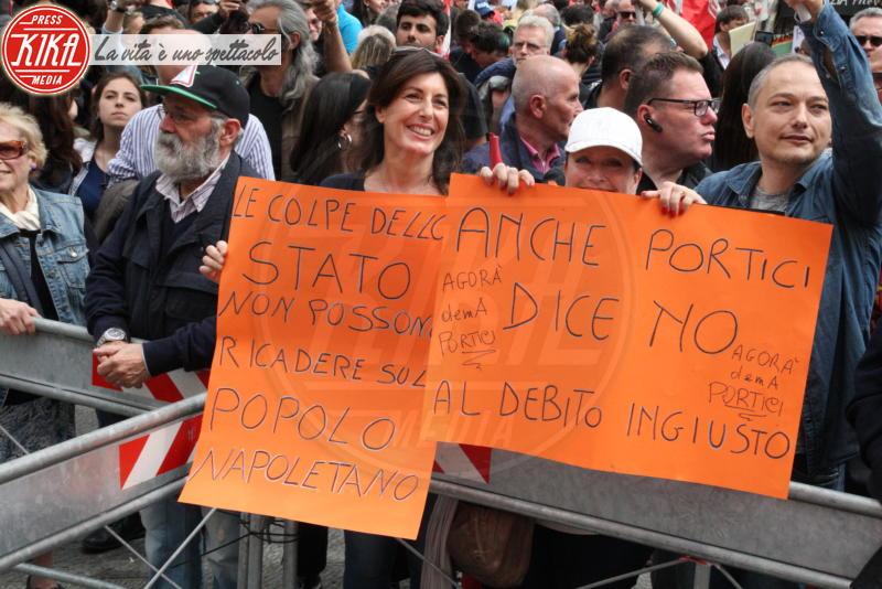 Protesta, Manifestanti - Napoli - 14-04-2018 - Napoli in piazza dice