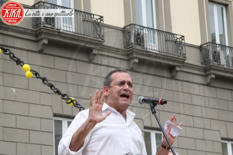 Luigi De Magistris - Napoli - 14-04-2018 - Napoli in piazza dice