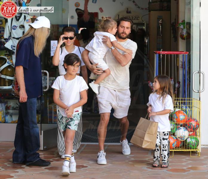 Sofia Richie, Scott Disick - Calabasas - 14-04-2018 - Disick e Richie: arrivano le presentazioni in famiglia