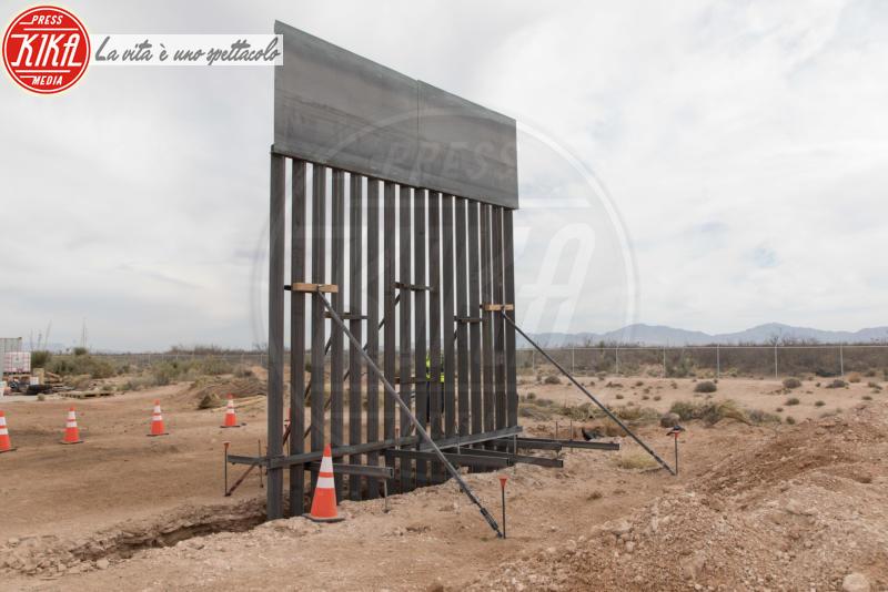 Muro col Messico - New Mexico - 06-04-2018 - Trump ha iniziato a costruire il famoso muro col Messico