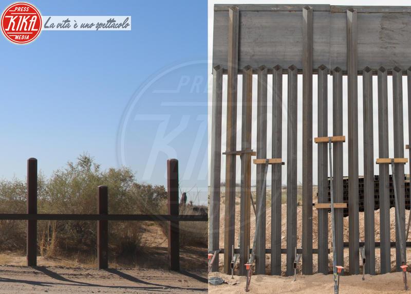 Muro col Messico - New Mexico - 08-04-2018 - Trump ha iniziato a costruire il famoso muro col Messico