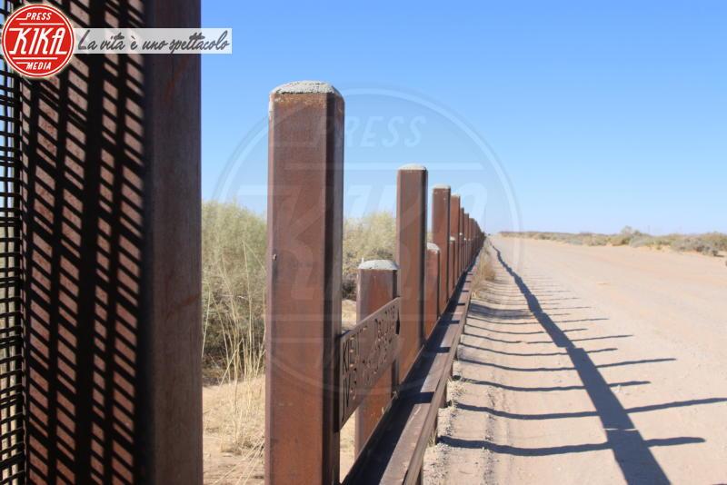 Muro col Messico - New Mexico - 18-01-2018 - Trump ha iniziato a costruire il famoso muro col Messico