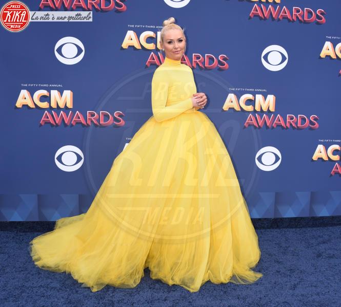 Lindsey Vonn - Las Vegas - 15-04-2018 - Nicole Kidman regina country: abito dorato e schiena scoperta