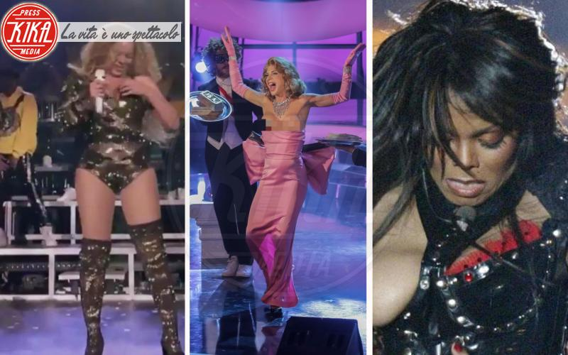 Beyoncé, Janet Jackson, Veronica Maya: l'imprevisto dà scandalo