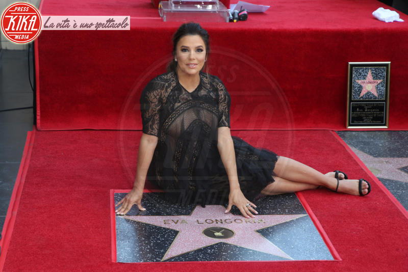Eva Longoria - Hollywood - 16-04-2018 - Eva Longoria, una stella col maxi-pancione sulla Walk of Fame