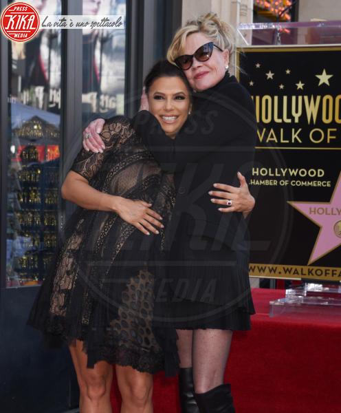 Melanie Griffith, Eva Longoria - Hollywood - 16-04-2018 - Eva Longoria, una stella col maxi-pancione sulla Walk of Fame