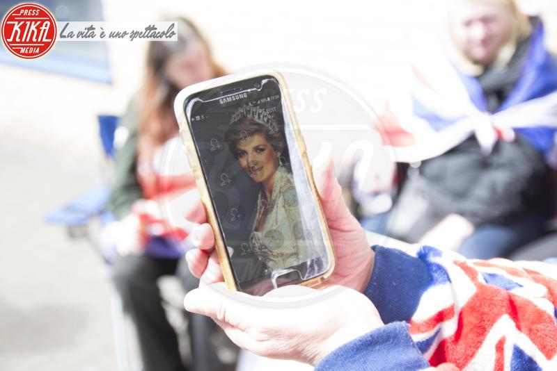 Terry Hutt, Lady Diana - Londra - 17-04-2018 - Terry e John, i fan più famosi del Regno: