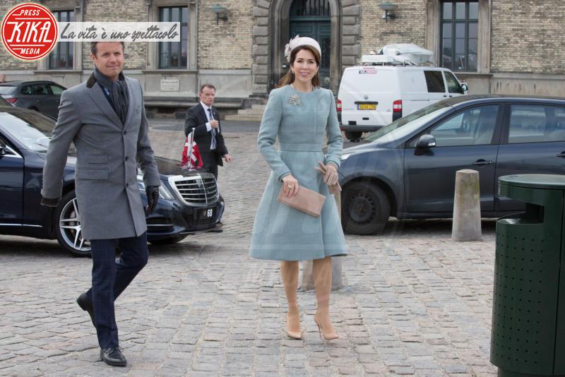 Principessa Mary di Danimarca, Principe Federico di Danimarca - Copenhagen - 28-03-2017 - Kate Middleton e Mary di Danimarca, lo stile è lo stesso