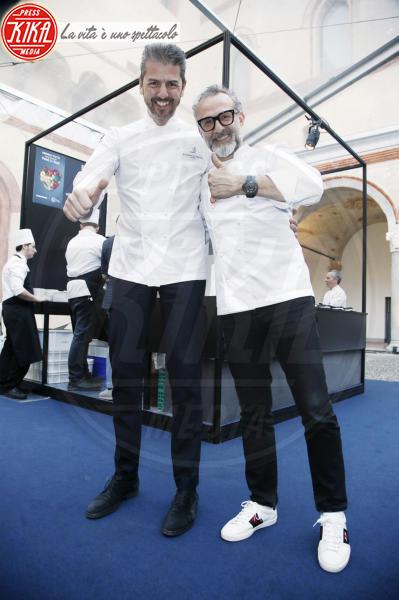 Andrea Berton, Massimo Bottura - Milano - 18-04-2018 - Bottura, Cracco & Co: una cena da 13 stelle Michelin