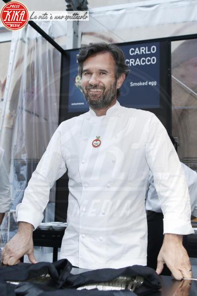 Carlo Cracco - Milano - 18-04-2018 - Bottura, Cracco & Co: una cena da 13 stelle Michelin