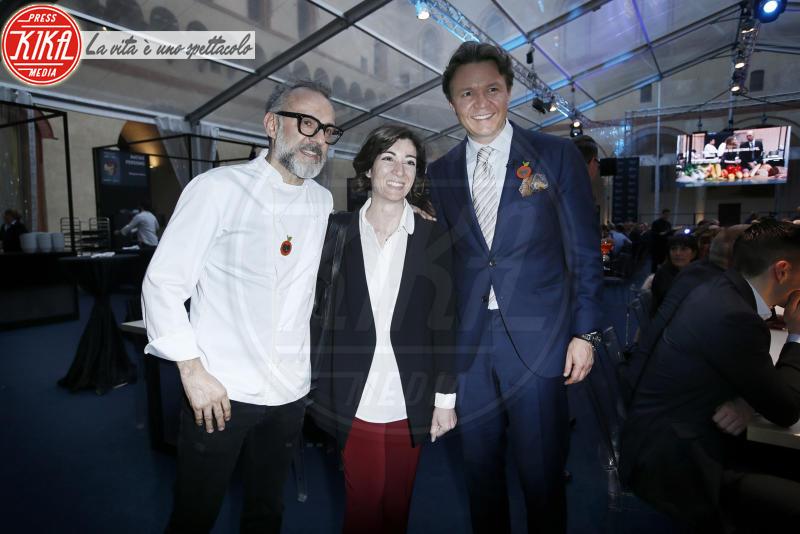 Cristina Tajani, Massimo Bottura - Milano - 18-04-2018 - Bottura, Cracco & Co: una cena da 13 stelle Michelin