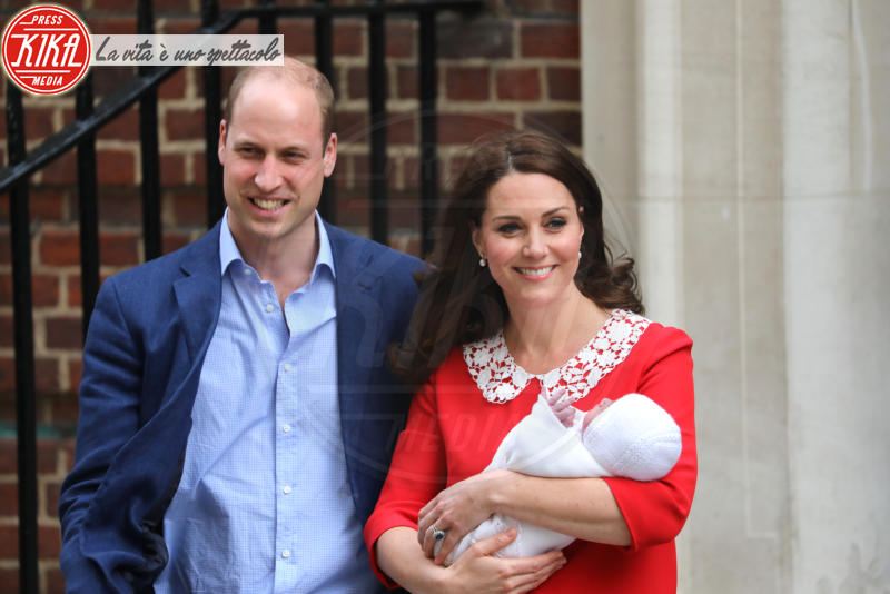 Principe Louis Arthur Charles, Principe William, Kate Middleton - Londra - 23-04-2018 -
