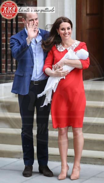 Royal Baby, Principe William, Kate Middleton - Londra - 23-04-2018 - Kate Middleton, per il royal baby in rosso come Lady Diana