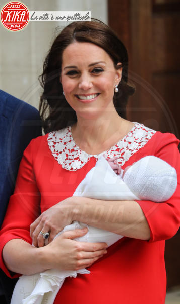Royal Baby, Kate Middleton - Londra - 23-04-2018 - Kate Middleton, per il royal baby in rosso come Lady Diana