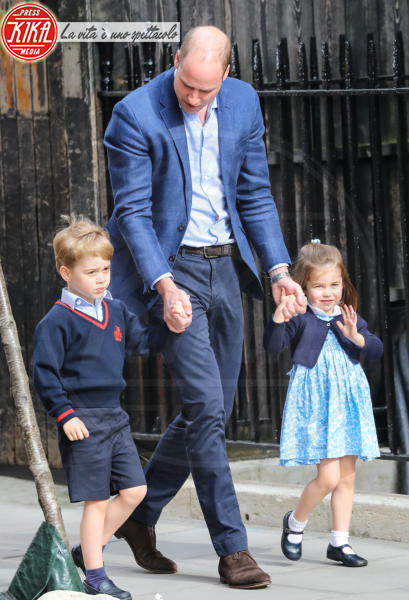 Principessa Charlotte Elizabeth Diana, Principe George, Principe William - Londra - 23-04-2018 - George e Charlotte tra paggetti e damigelle: le foto più belle