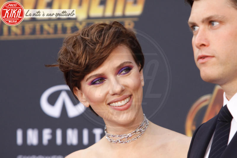 Colin Jost, Scarlett Johansson - Hollywood - 23-04-2018 - Le star che non sapevi non superassero il metro e 60