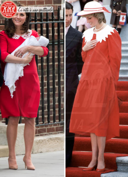 Kate Middleton, Lady Diana - Kate Middleton e Lady Diana: la trasparenza è la stessa