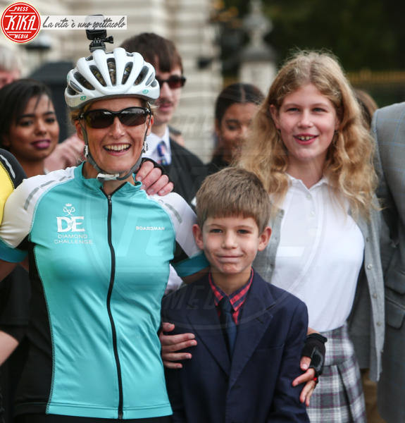 James Visconte di Severn, James Viscount Severn, Sophie Countess of Wessex, Lady Louise Windsor - Londra - 25-09-2016 - Principesse adolescenti sui troni d'Europa: le riconoscete?