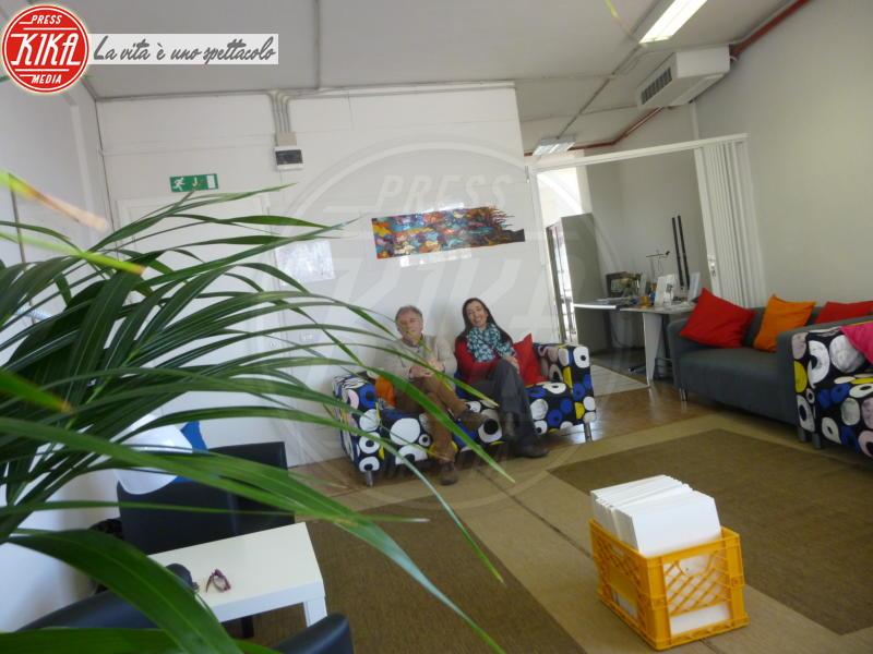 Aula Divano - Pistoia - A Pistoia gli studenti fanno lezione seduti sul divano