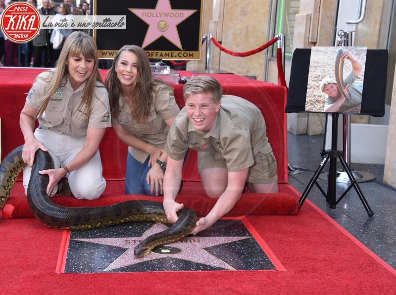 Robert Irwin, Bindi Irwin, Terri Irwin - Hollywood - 26-04-2018 - Le star che non sapevi fossero rimaste vedove da giovani