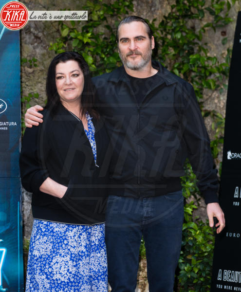 Lynne Ramsay, Joaquin Phoenix - Roma - 27-04-2018 - Joaquin Phoenix a Roma per presentare A Beautiful Day