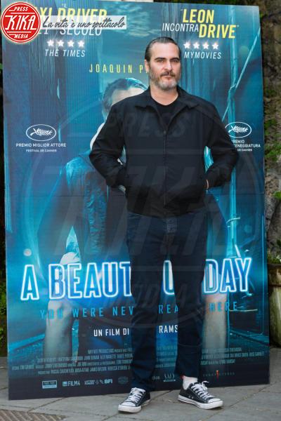Joaquin Phoenix - Roma - 27-04-2018 - Joaquin Phoenix a Roma per presentare A Beautiful Day