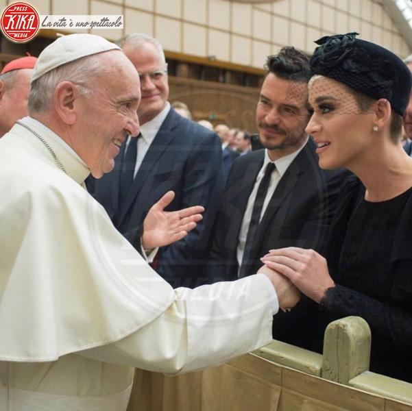 Papa Francesco, Katy Perry, Orlando Bloom - Città del Vaticano - 30-04-2018 - Auguri Orlando Bloom, le curiosita' sulla star