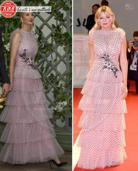 Ivanka Trump, Kirsten Dunst - 30-04-2018 - Chi lo indossa meglio? Ivanka Trump e Kirsten Dunst