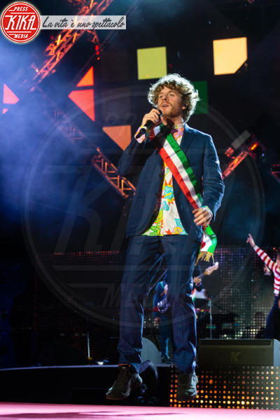 Lo Stato Sociale - Roma - 01-05-2018 - Concerto del 1° maggio: trono da imperatrice per Gianna Nannini