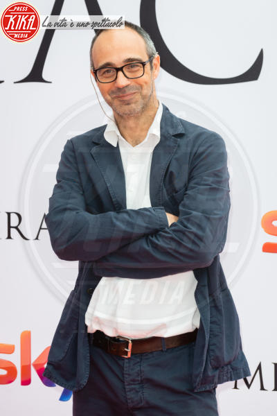 Niccolò Ammaniti - Roma - 03-05-2018 - Guido Caprino premier ne Il Miracolo di Niccolò Ammaniti