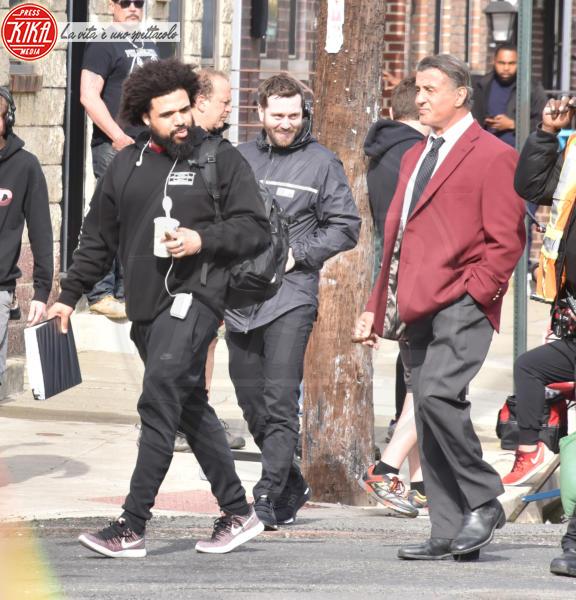 Steven Caple Jr., Sylvester Stallone - Filadelfia - 07-05-2018 - Sylvester Stallone, quanta eleganza sul set di Creed 2