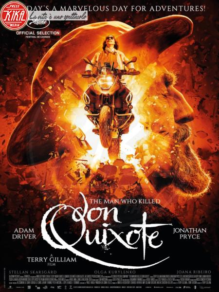 The man who killed don Quixote - Cannes - 10-05-2018 - Cannes: il Don Chisciotte di Gilliam sconfigge i mulini a vento