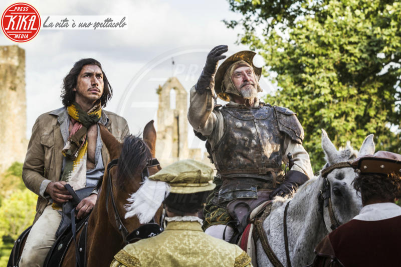 The man who killed don Quixote, Adam Driver, Jonathan Pryce - Cannes - 10-05-2018 - Cannes: il Don Chisciotte di Gilliam sconfigge i mulini a vento