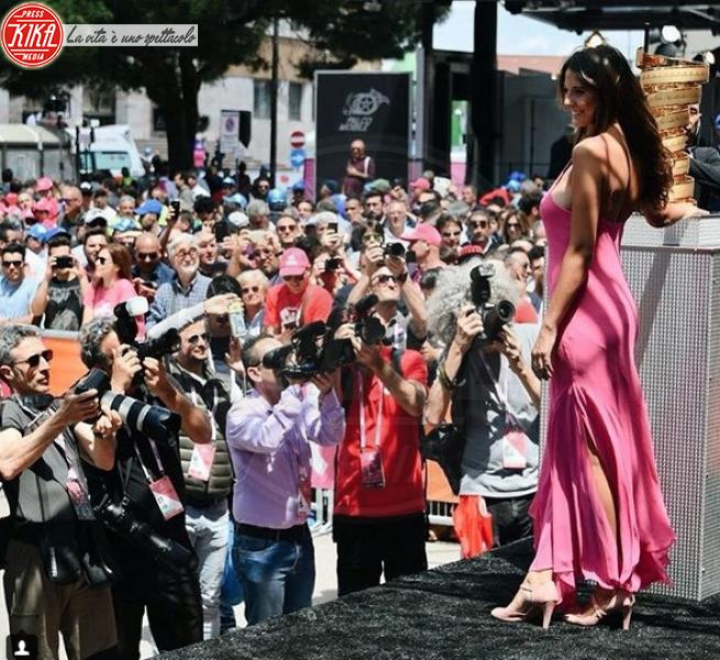 Martina Quattrone - Milano - 10-05-2018 - Martina Quattrone, la madrina che ha stregato i fan del Giro