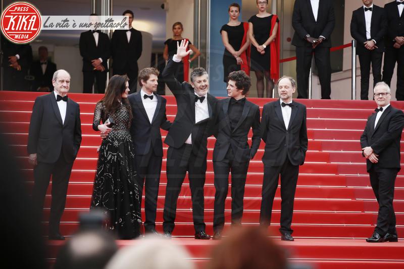 Pierre Deladonchamps, Vincent Lacoste, Denis Podalydes, Christophe Honore - Cannes - 10-05-2018 - Cannes 2018, Amber Heard illumina la premiere di Sorry Angel