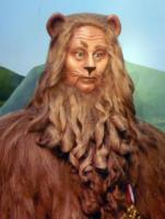leone codardo, Mago di Oz, Bert Lahr - New York - 14-10-2007 - Nuove statue al museo delle cere a Hollywood.
