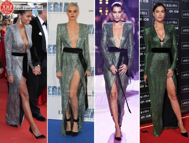 Tina Kunakey, Bella Hadid, Cara Delevingne, Irina Shayk - 14-05-2018 - Chi lo indossa meglio? Tina Kunakey e Cara Delevingne