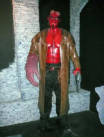 Hellboy - New York - 14-10-2007 - Nuove statue al museo delle cere a Hollywood.