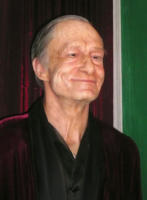 Hugh Hefner - New York - 14-10-2007 - La Anderson nuda per festeggiare gli 82 anni di Hugh Hefner