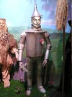 uomo di latta, Jack Haley - New York - 14-10-2007 - Nuove statue al museo delle cere a Hollywood.