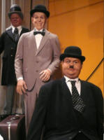 Stan Laurel, Oliver Hardy - New York - 14-10-2007 - Nuove statue al museo delle cere a Hollywood.