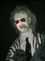 Beetle Juice, Michael Keaton - New York - 14-10-2007 - Nuove statue al museo delle cere a Hollywood.