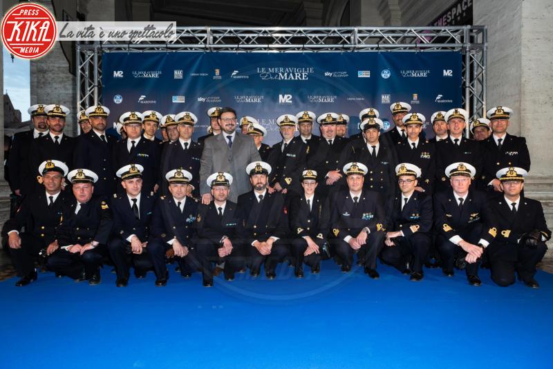 Ufficiali Marina Militare Italiana - Roma - 14-05-2018 - A volte ritornano: Alessia Fabiani incanta sul blue carpet