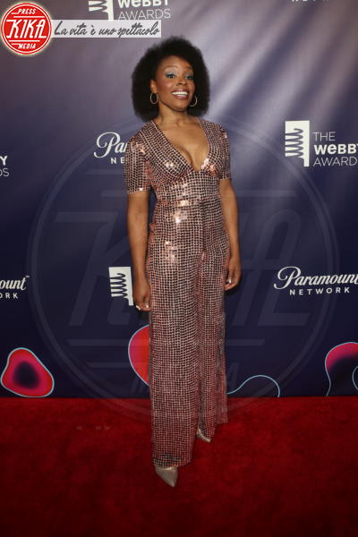 Amber Ruffin - New York - 15-05-2018 - Webby Awards: FKA Twigs, sideboob da capogiro